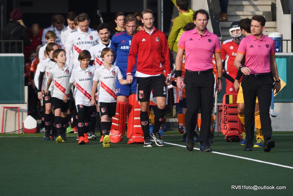 Eindstanden HK (H): Amsterdam laat punten liggen, HGC wint van Rotterdam