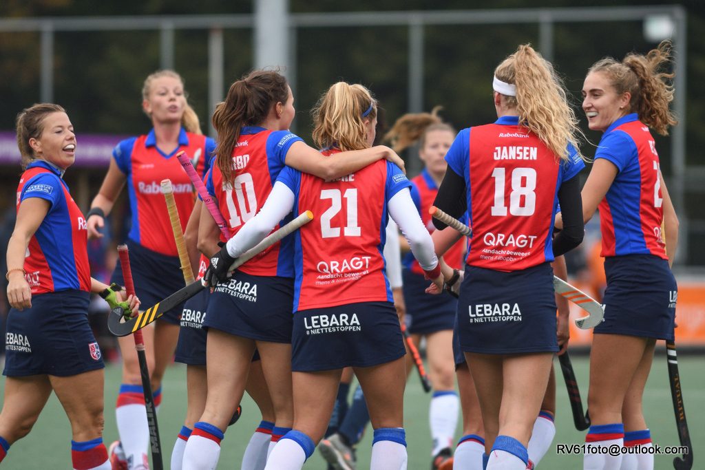 Round-up Livera HK (D): Amsterdam en Den Bosch in evenwicht, SCHC pakt winst op Oranje-Rood