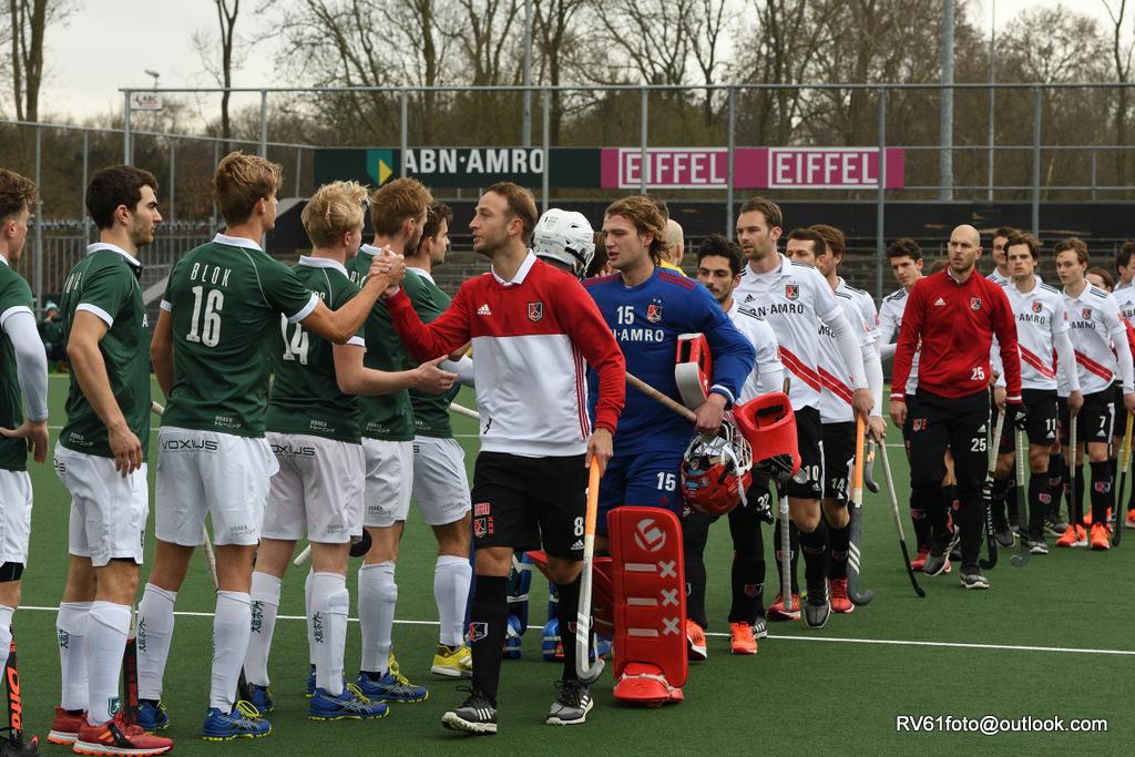 Update oefenwedstrijden: Kampong speelt knap gelijk tegen Den Bosch