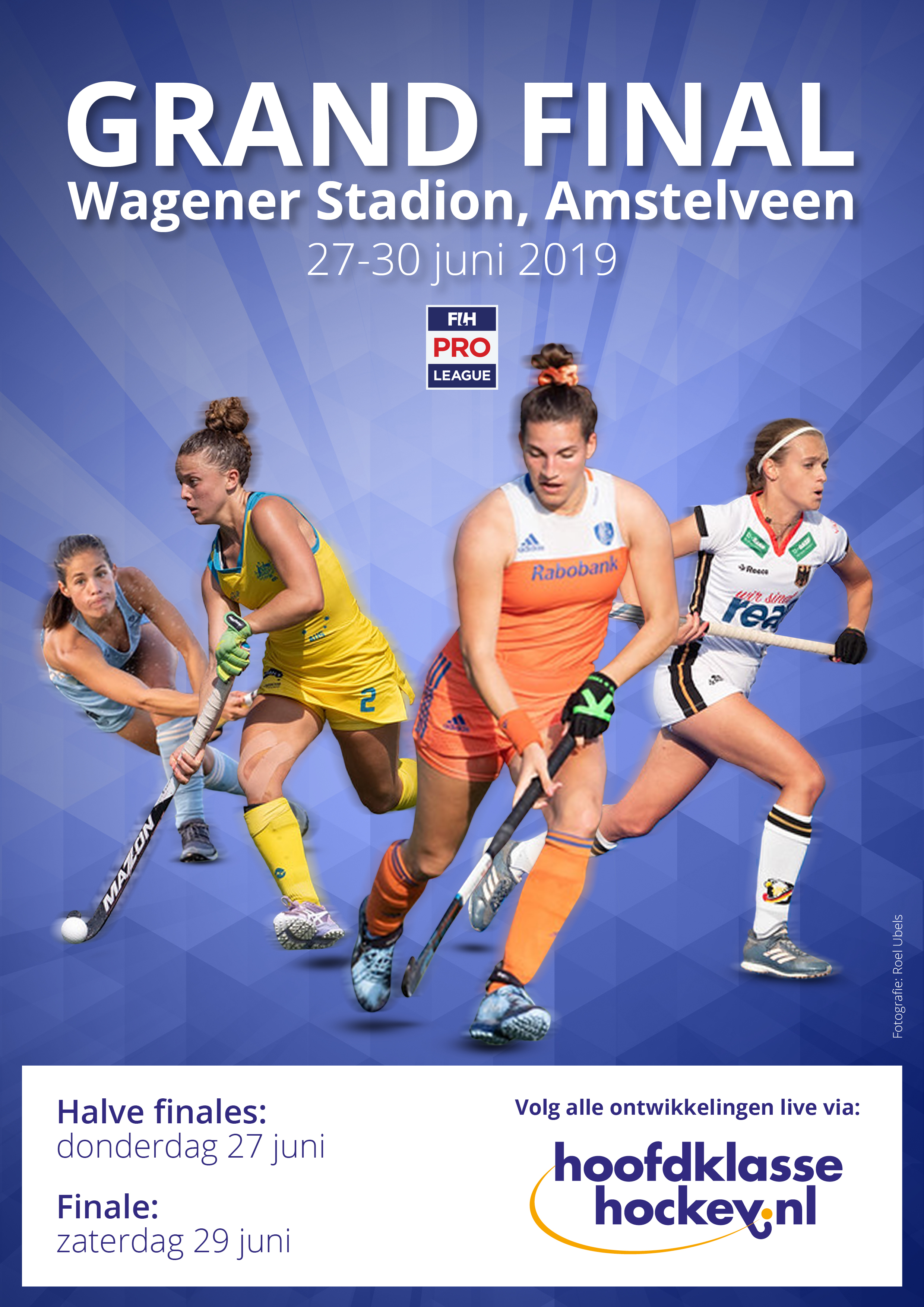 LIVE FIH Pro League Finale (D): Nederland wint de FIH Pro League (Shoot-outs eindstand 4 - 3)
