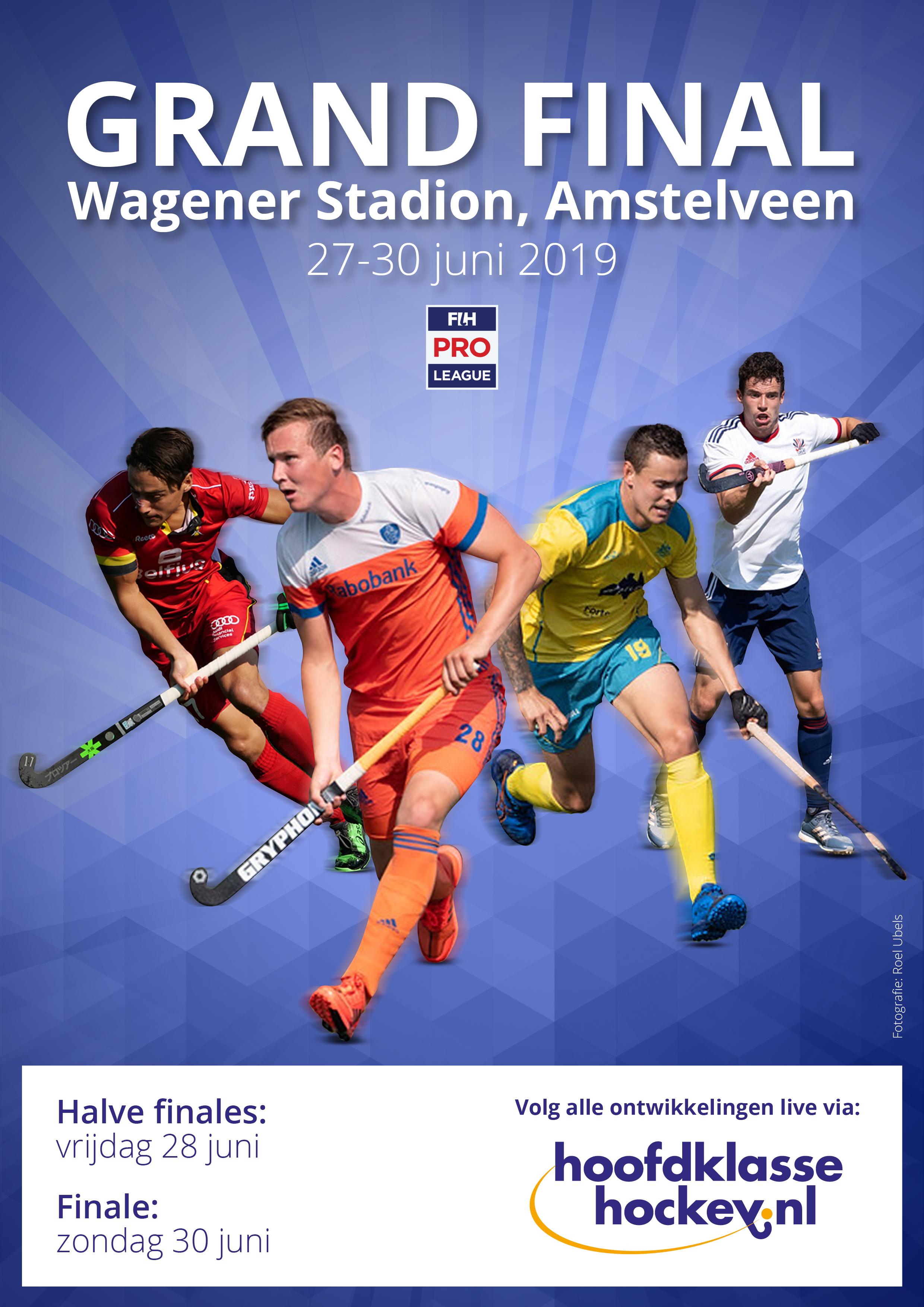 LIVE FIH Pro League Grand Final (H): Oranje zint op wraak voor verloren WK-finale tegen België (Eindstand 3-1)