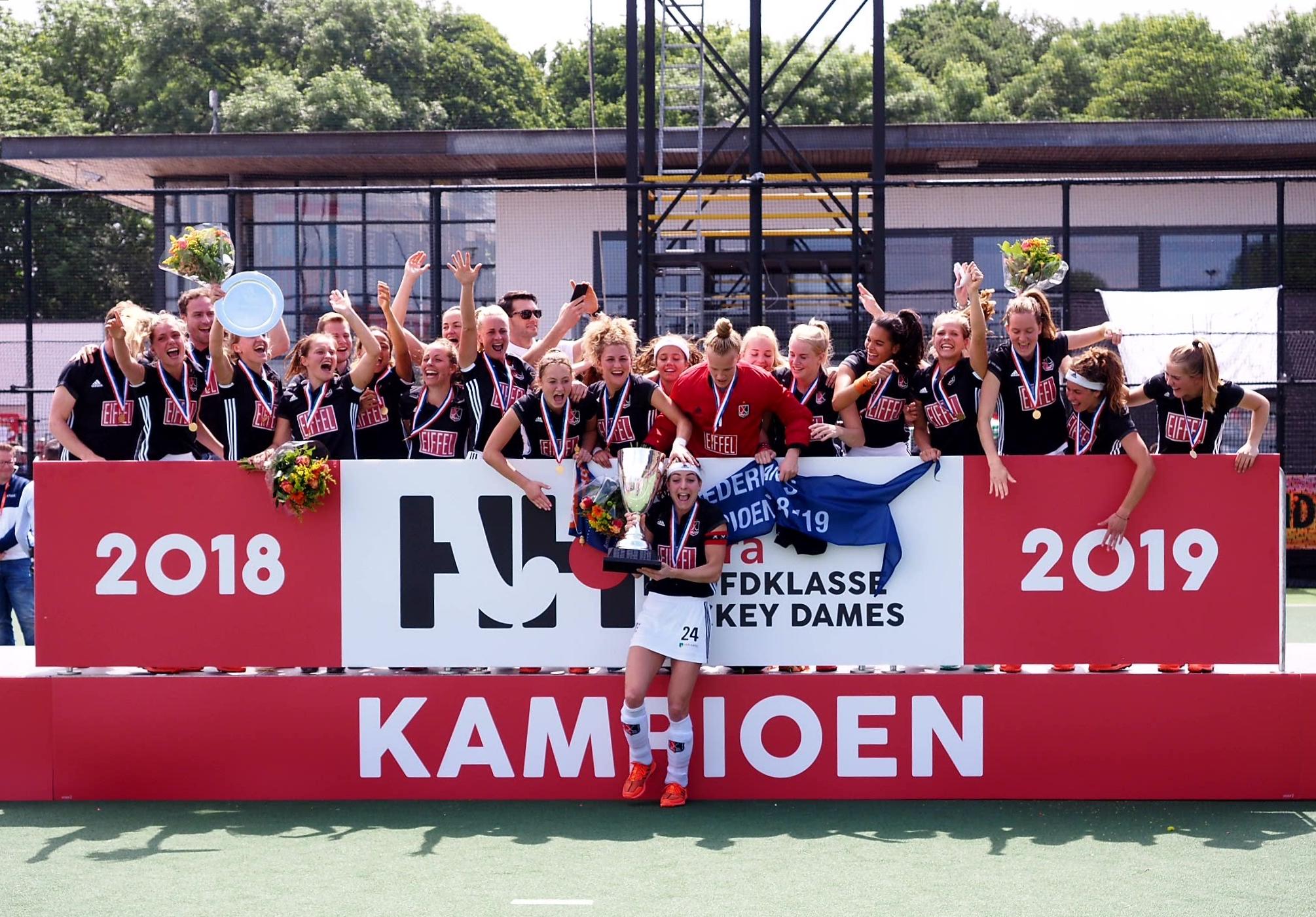 Amsterdam Dames 1 pakt landstitel na overtuigende zege op Den Bosch!