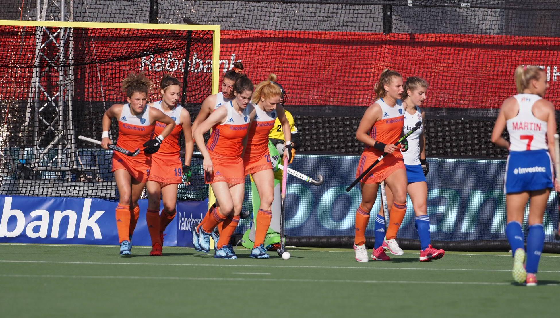 Round-up Pro League (D): Oranje dames boeken in Londen twaalfde zege op rij na matige wedstrijd