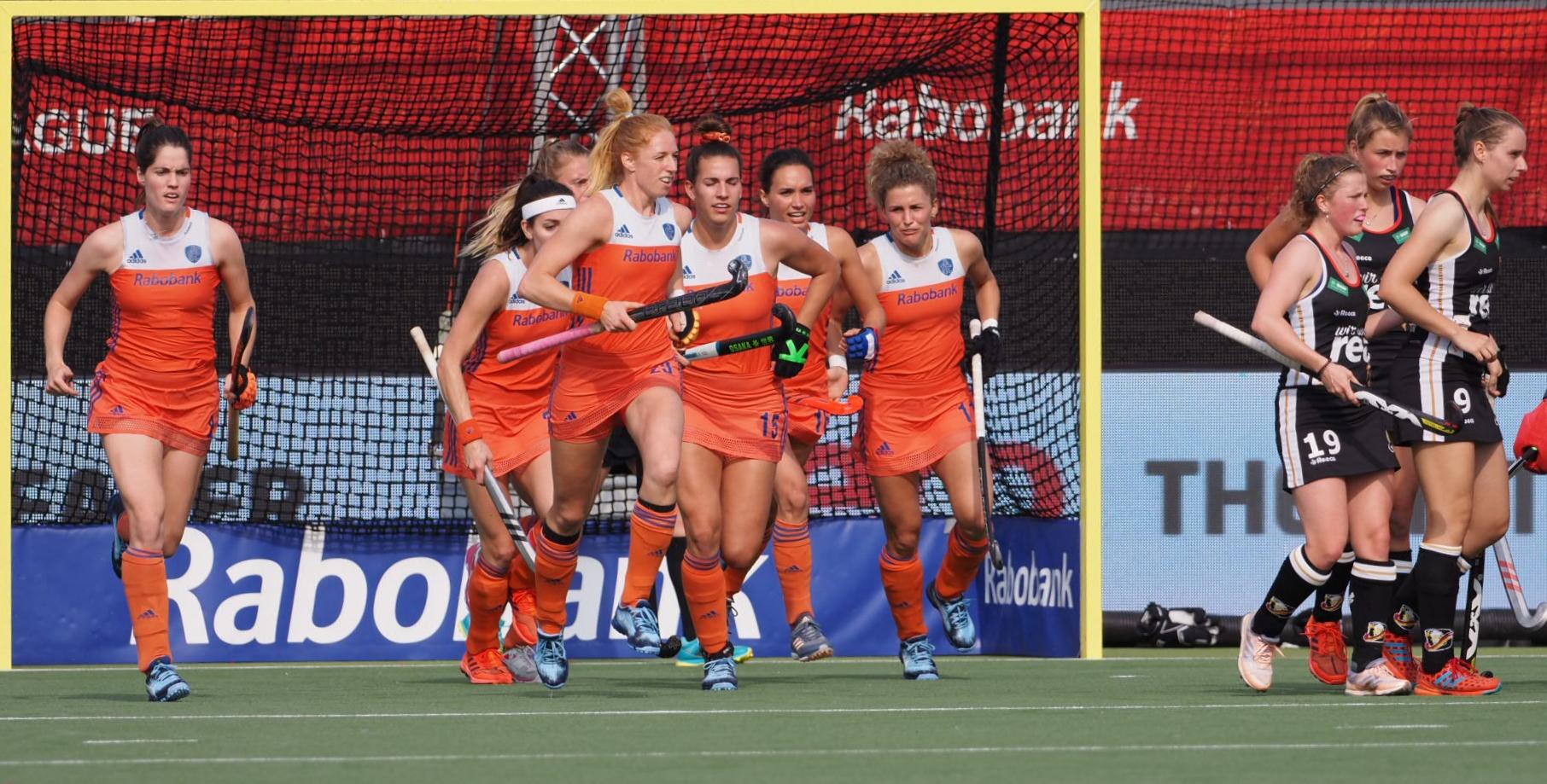 Round-up Pro League (D): Oranje wint nipt van taaie Duitsers door wonderschone treffers