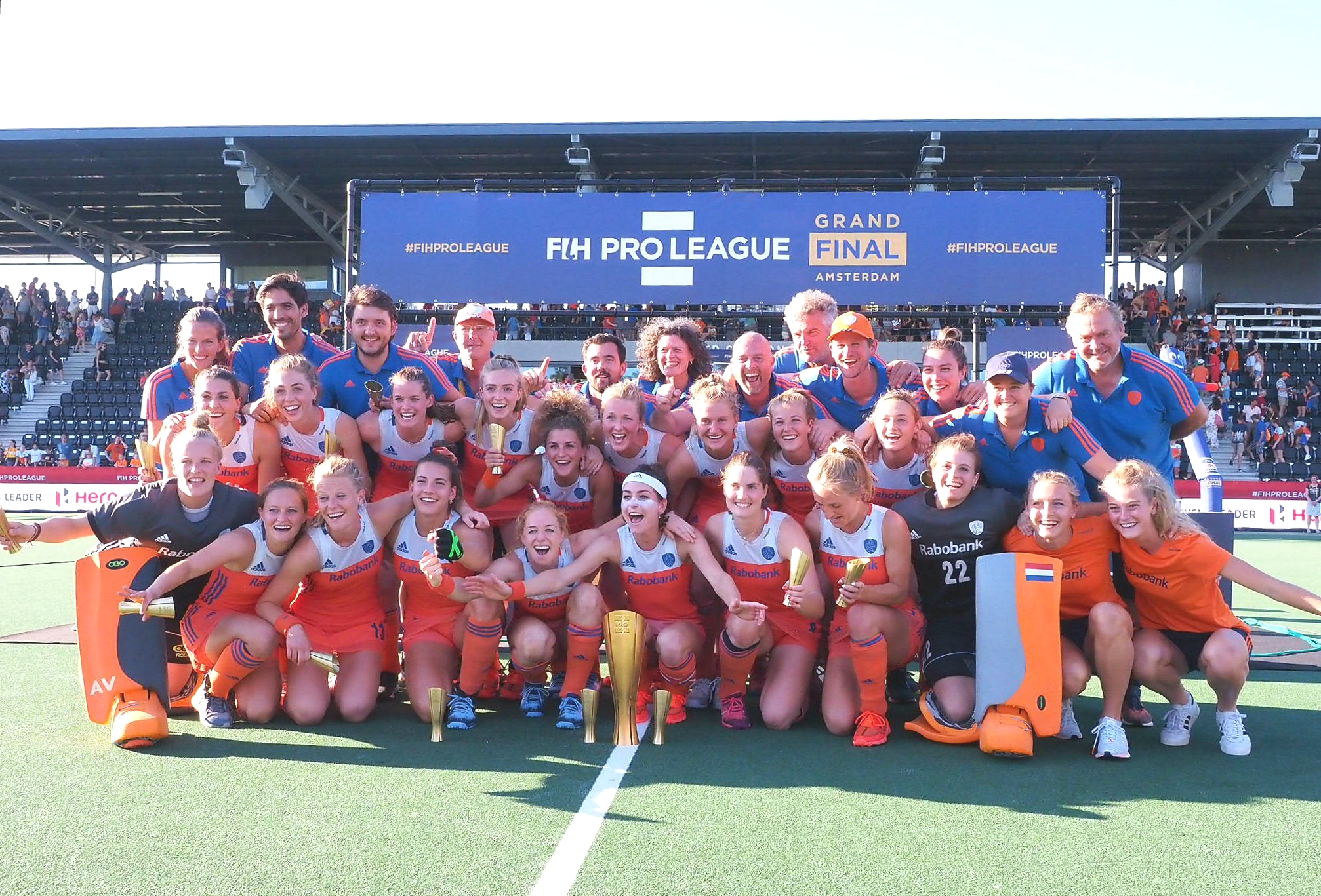 Herstart FIH Pro League vanaf 22 september