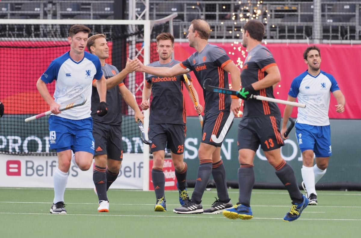 Nederland zet een riante score neer tegen hockeydwerg Schotland