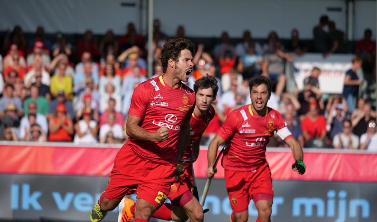 EK Hockey (H): Samenvatting Nederland - Spanje (3 - 4)