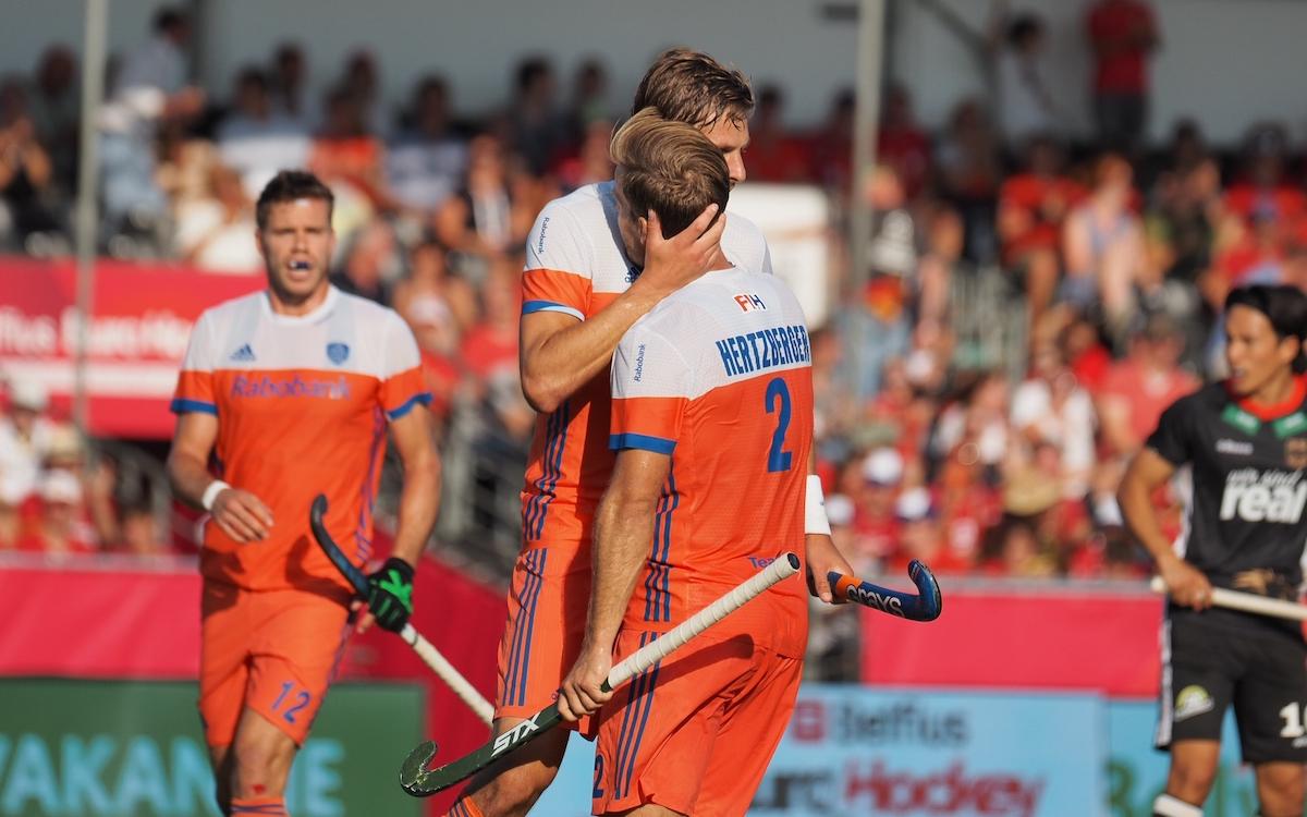 EK Hockey (H): Samenvatting troostfinale Nederland - Duitsland