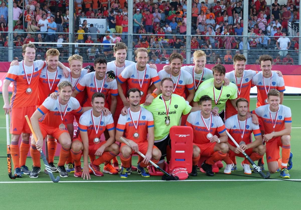 De Nederlandse heren spelen Duitsland van de mat en winnen brons