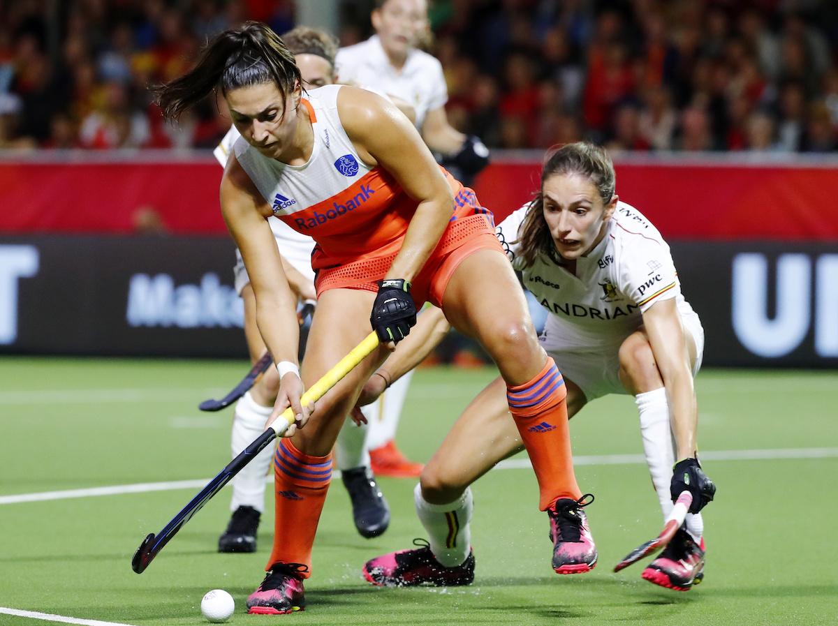 EK Hockey (D): Samenvatting België - Nederland