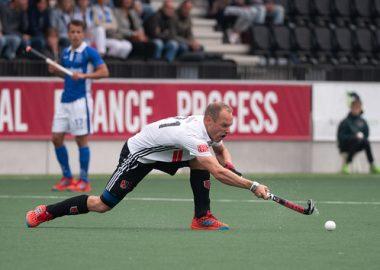 Teun Rohof is nu 35 jaar en de oudste speler in de Tulp Hoofdklasse Heren.