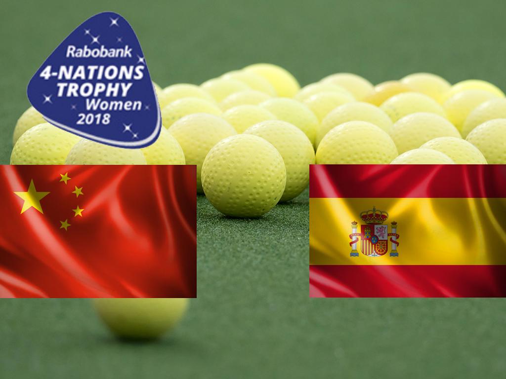 4-Nations Trophy (D): Spanje eindigt als derde na ruime zege op China