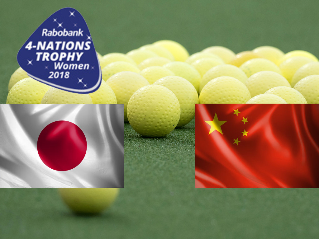 4-Nations Trophy (D): Japan te sterk voor China in openingsduel