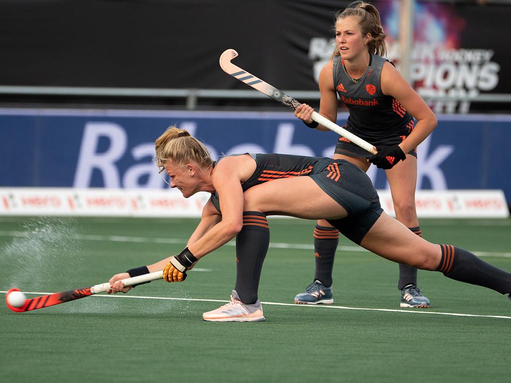 Oranje International Caia van Maasakker blikt vooruit op de Pro League wedstrijd tegen China