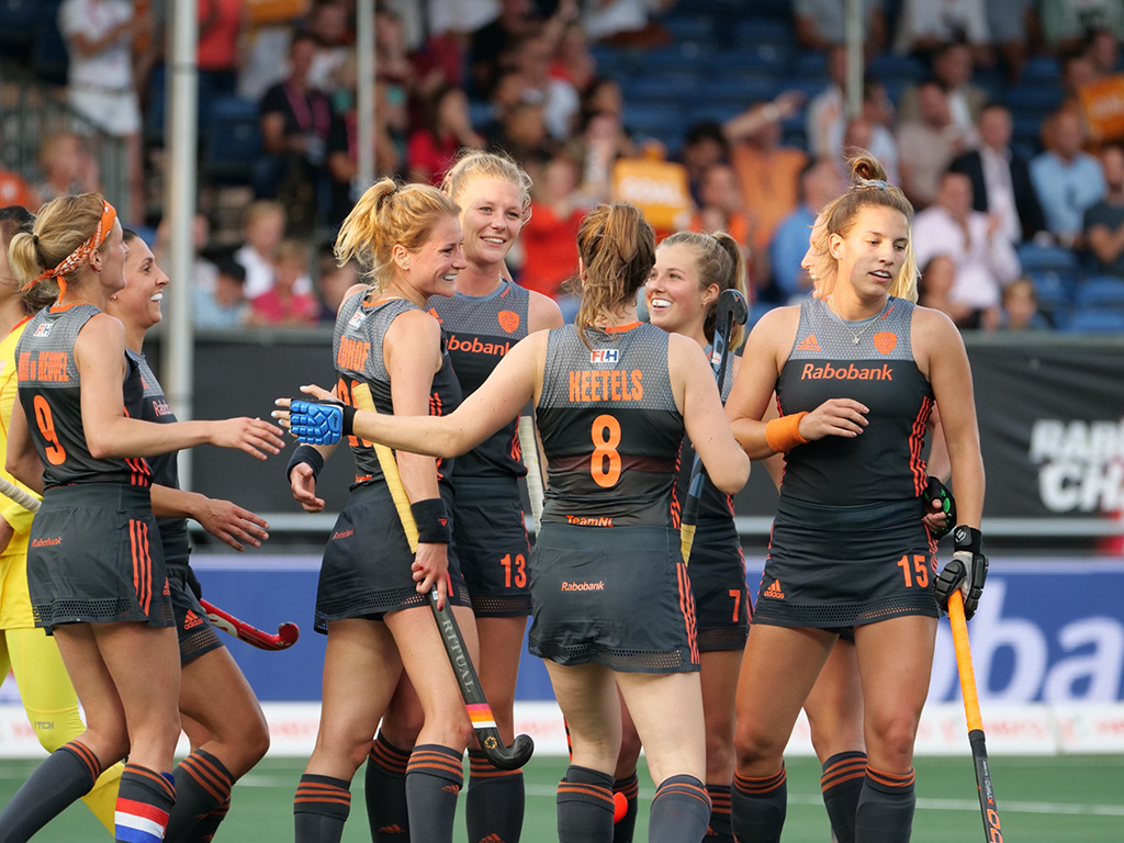 4-Nations Trophy foto's (D): Nederland-China 7-0