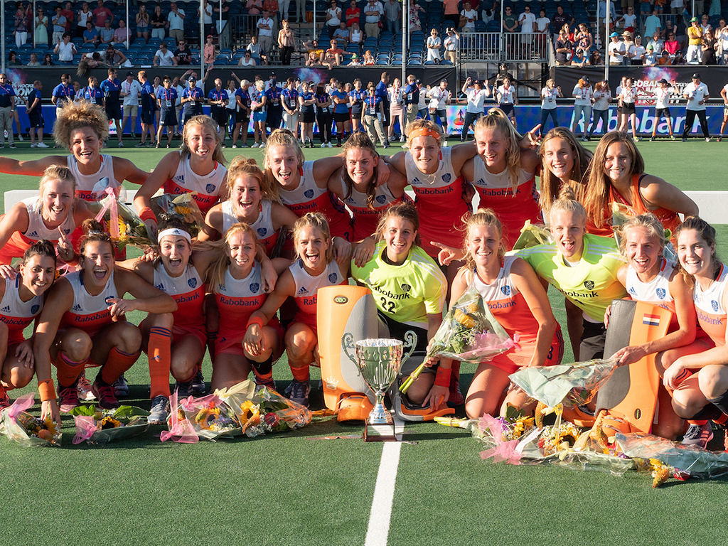 4-Nations Trophy (D): Nederland veel te sterk voor Japan in finale