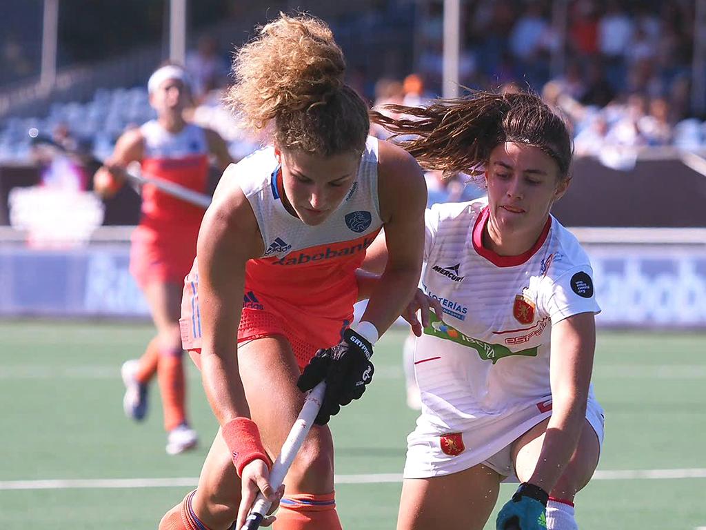 4-Nations Trophy (D): Nederland verslaat Spanje in eerste duel