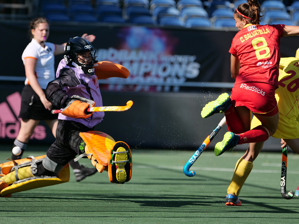 4-Nations Trophy (D): China ruim langs Spanje