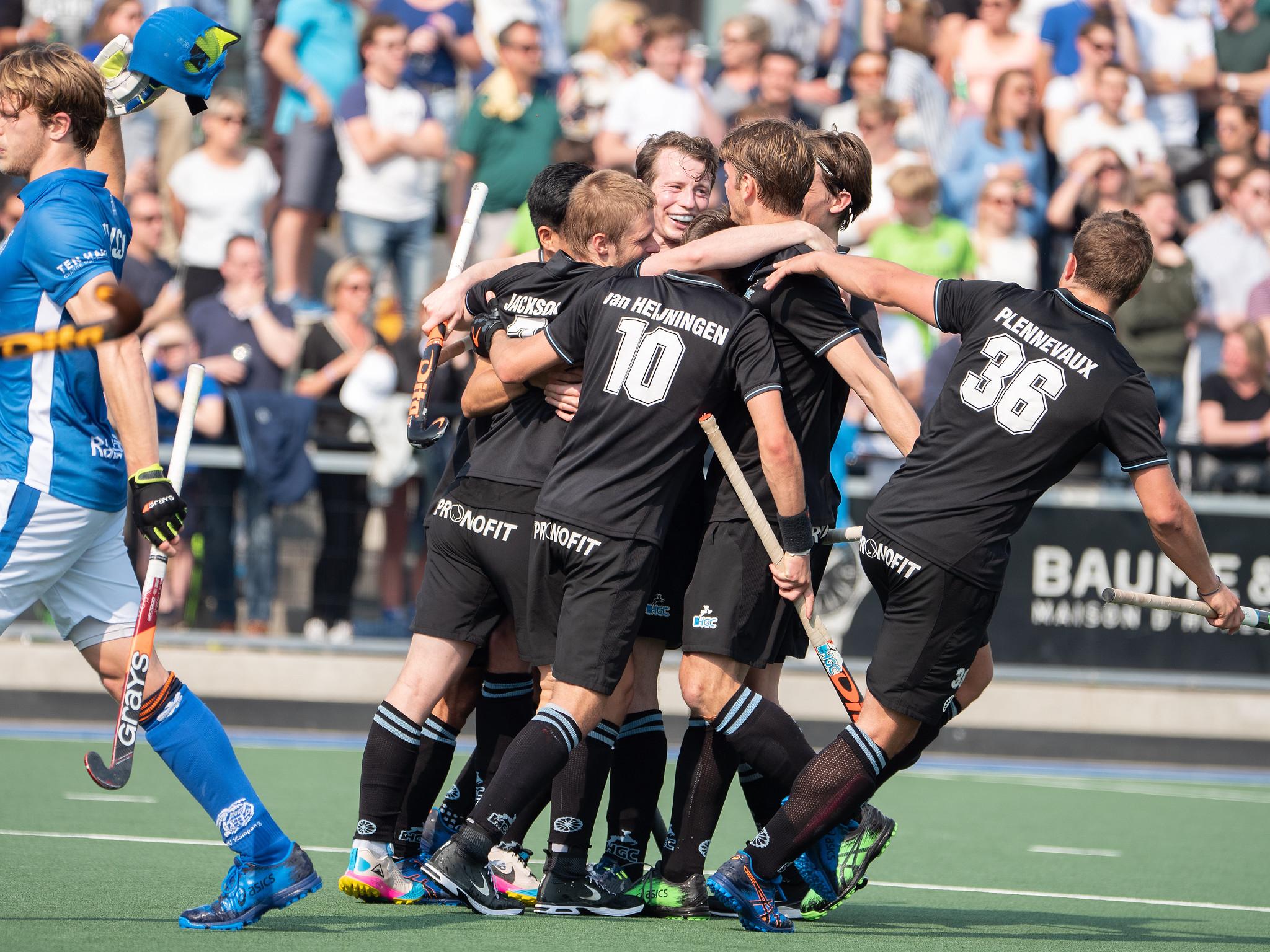 HGC wint laatste ticket EHL door in de shoot-outs te winnen van Amsterdam