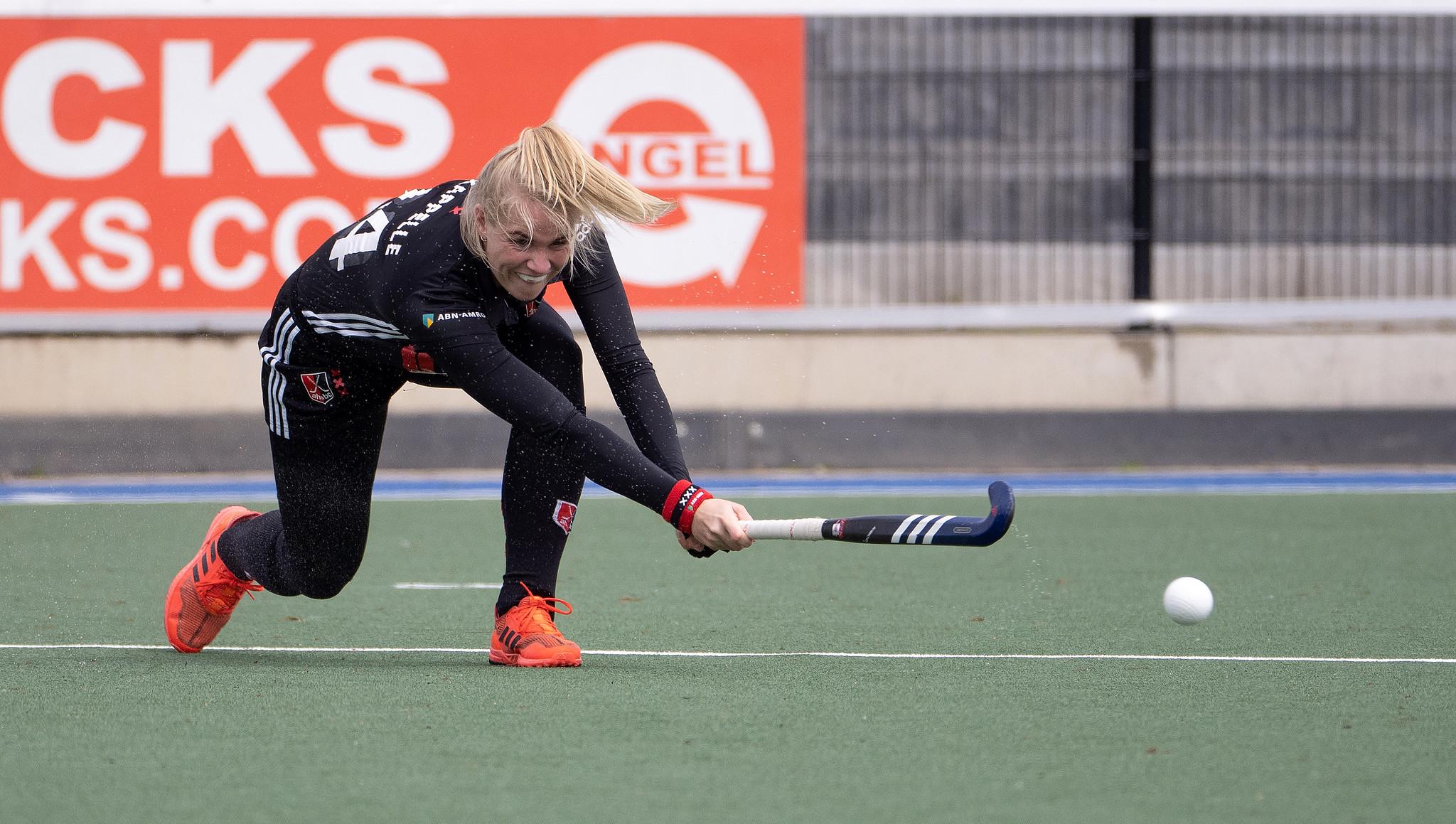Jong Oranje-speelster Ilse Kappelle maakt zich op voor haar tweede Livera Hoofdklasse finale