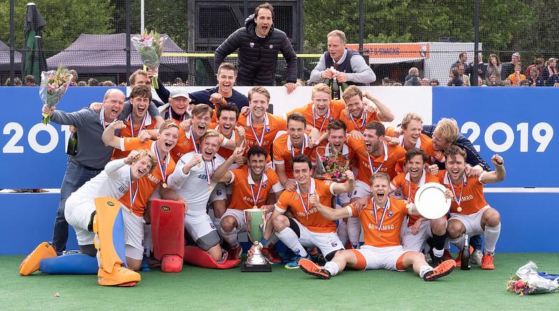 Een jaar later: Bloemendaal voor de 20ste keer Landskampioen