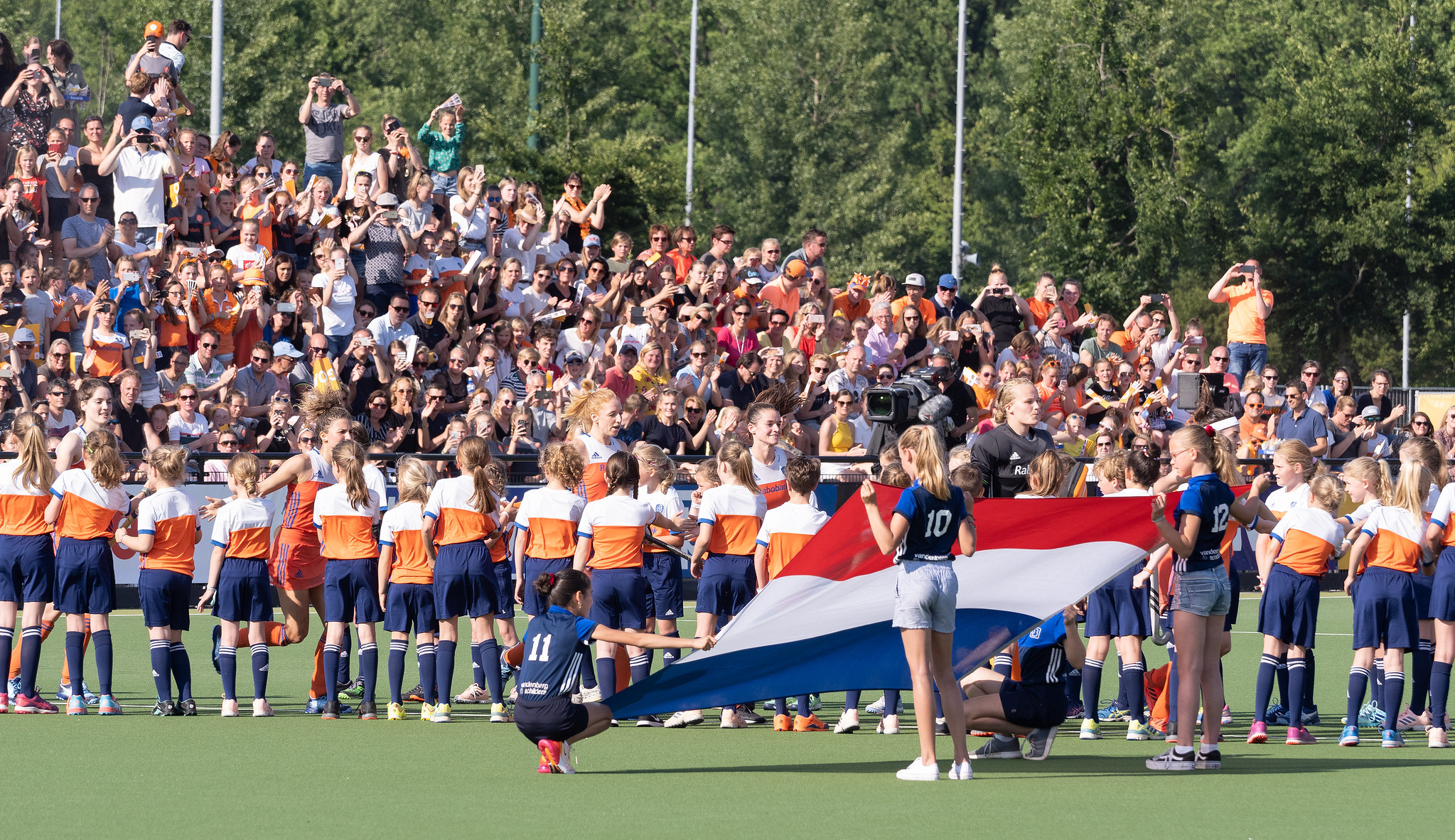 LIVE EK Hockey (H): Nederland wint de eerste poulewedstrijd (Eindstand 5 - 1)