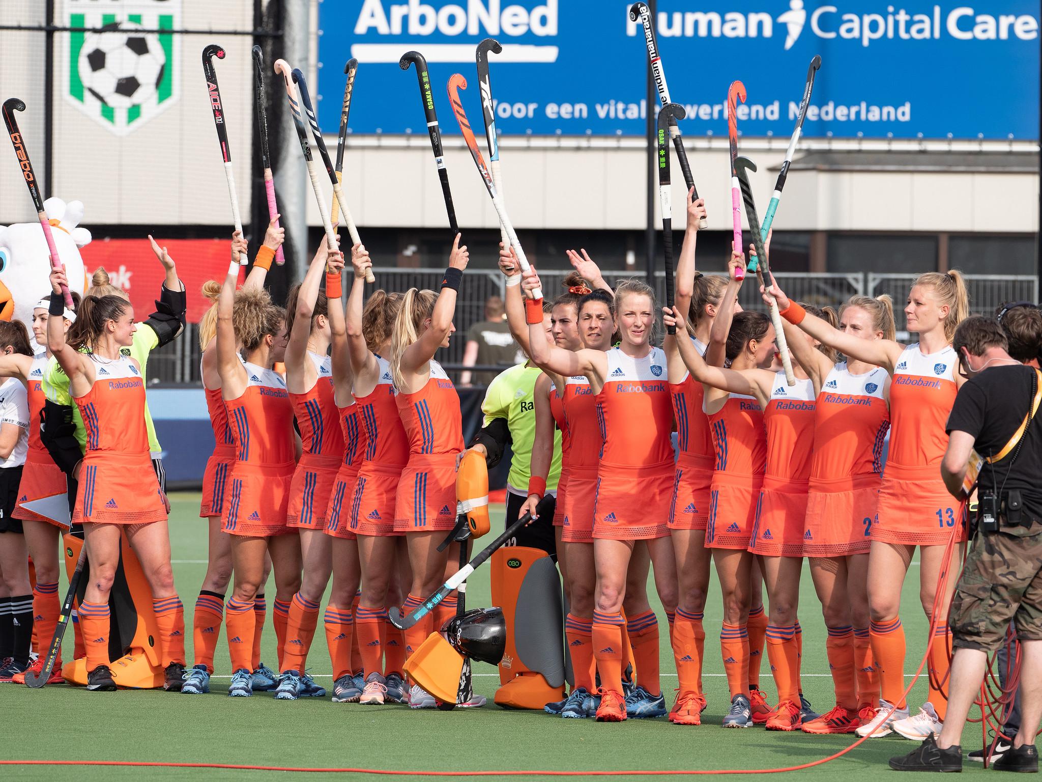 LIVE EK Hockey (D): Nederland speelt gelijk tegen Belgie (Eindstand 1 - 1)