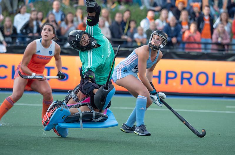 Oranje-dames verliezen in de FIH Pro League van Argentinië