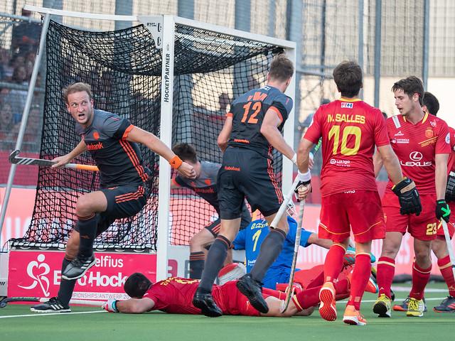 Liveverslag EK Hockey (H): Nederland wint met overmacht van Duitsland (Eindstand 4 - 0)