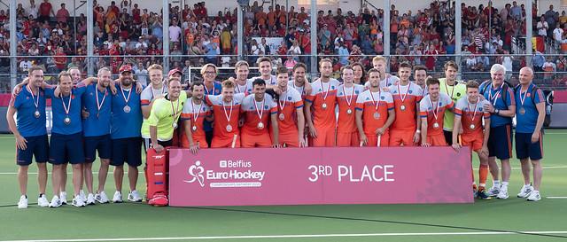 EK Hockey foto's: Nederland - Duitsland