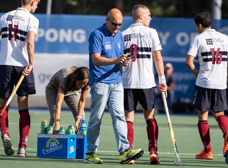 Carolos Castano neemt aan het einde van het seizoen afscheid van Klein Zwitserland