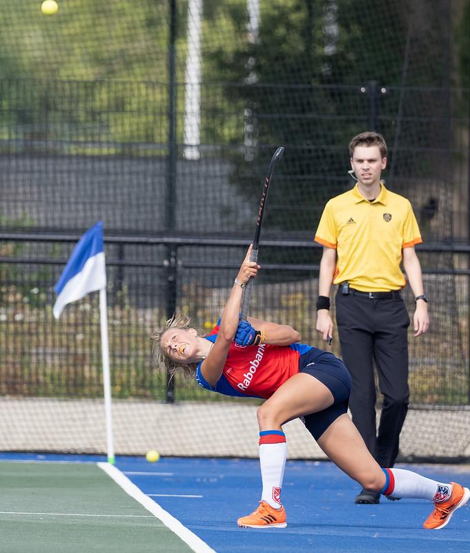 Talent Langejans speelt na één seizoen jeugd al in het eerste van SCHC