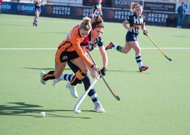 Lisa Scheerlinck maakte gisteren haar debuut na lang blessureleed.