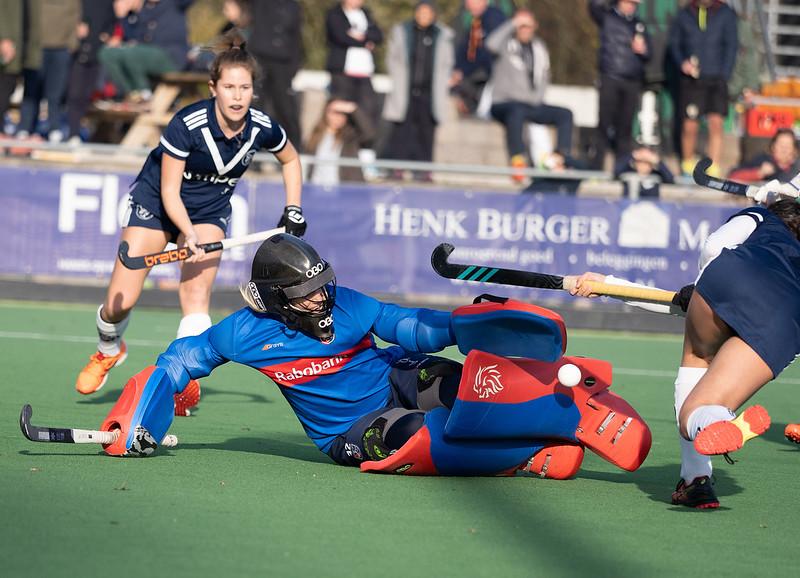 Keepster Alexandra Heerbaart houdt hoop op een volledig seizoen