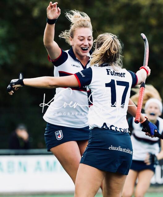 Livera HK (D): Matchwinnaar Amber Folmer zorgt ervoor dat Huizen een belangrijk punt pakt tegen Groningen