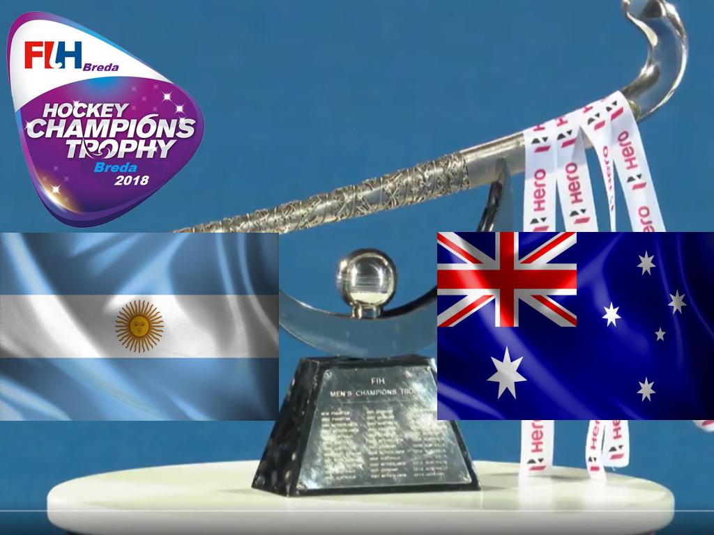 Champions Trophy (H): Peillat leidt Argentinië langs Australië