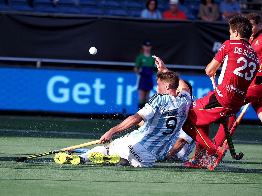 Champions Trophy (H): Gelijkspel bij Argentinië-België