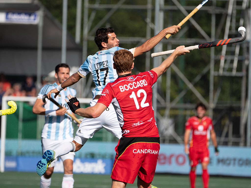 Champions Trophy foto's (H): Argentinië-België 1-1