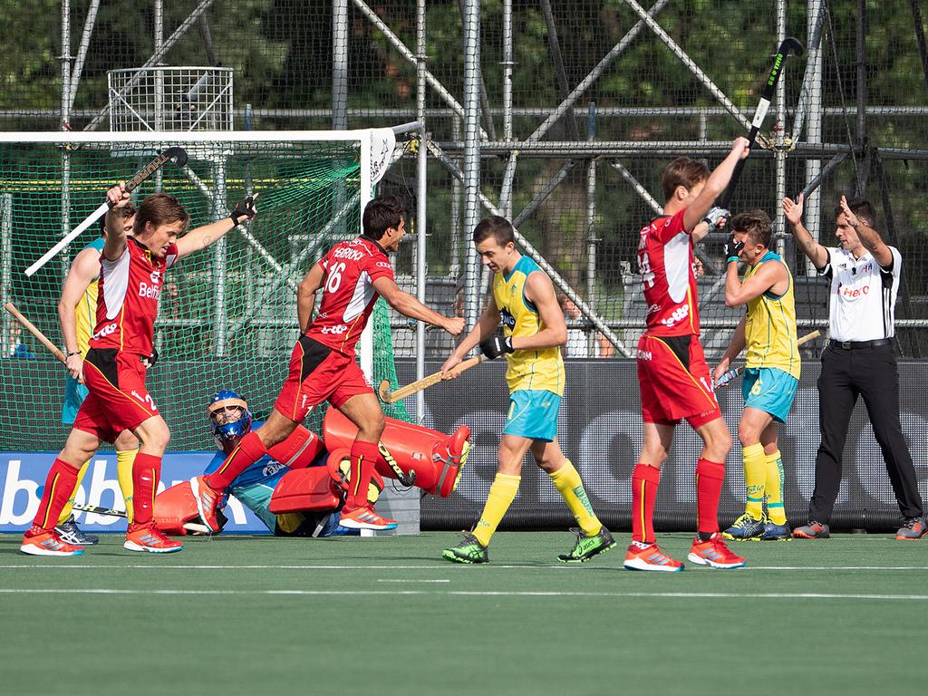 Champions Trophy (H): Australië speelt gelijk tegen België