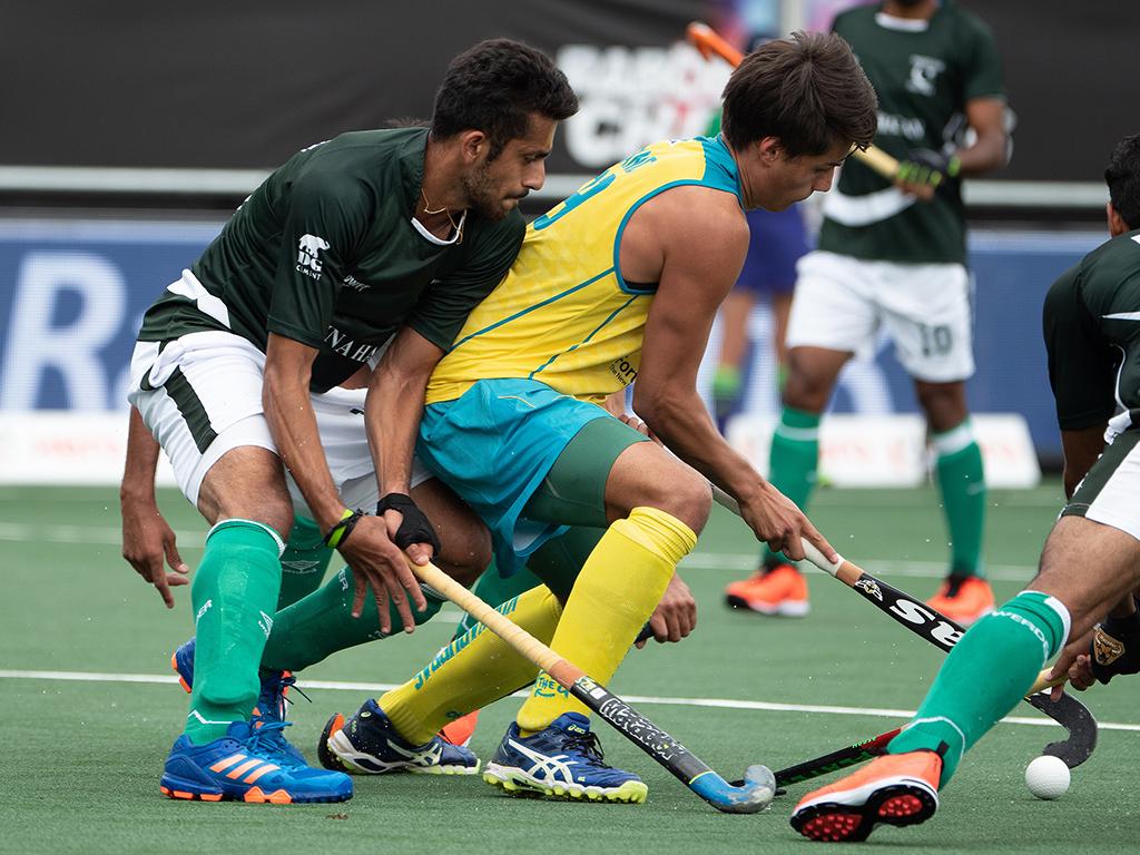 Champions Trophy foto's (H): Australië-Pakistan 2-1