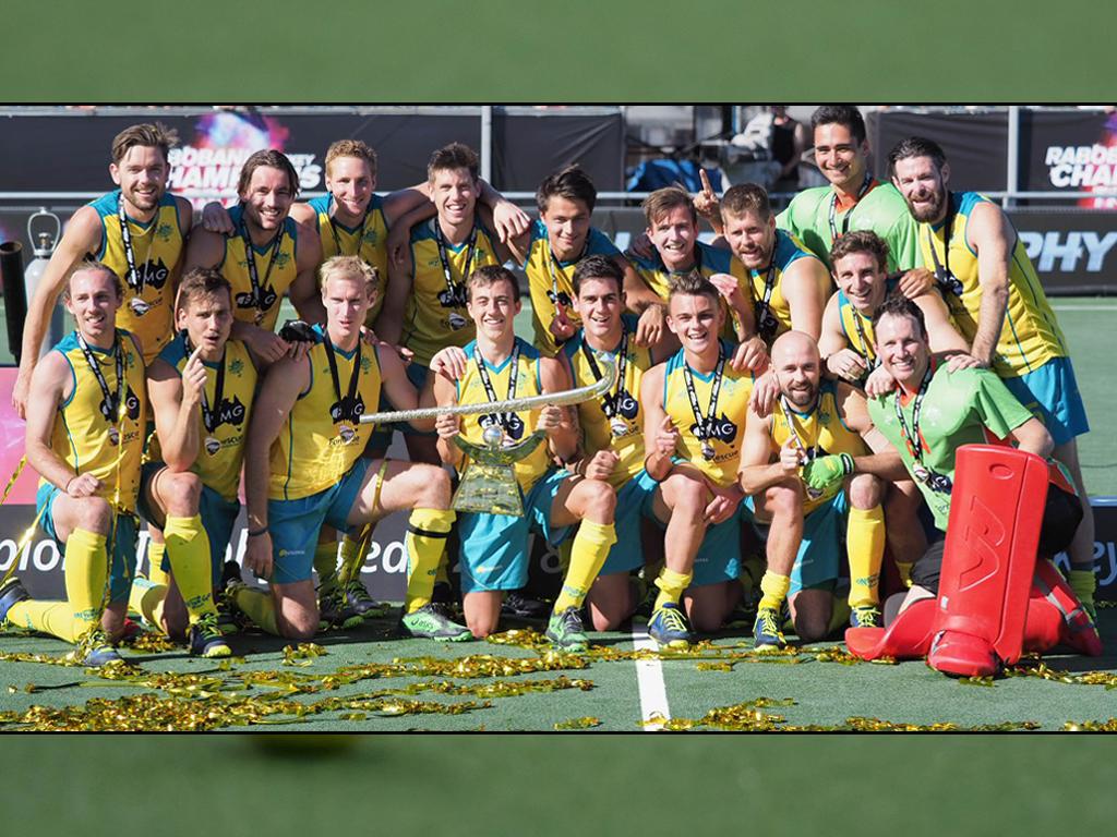 Champions Trophy (H): Australië winnaar laatste editie