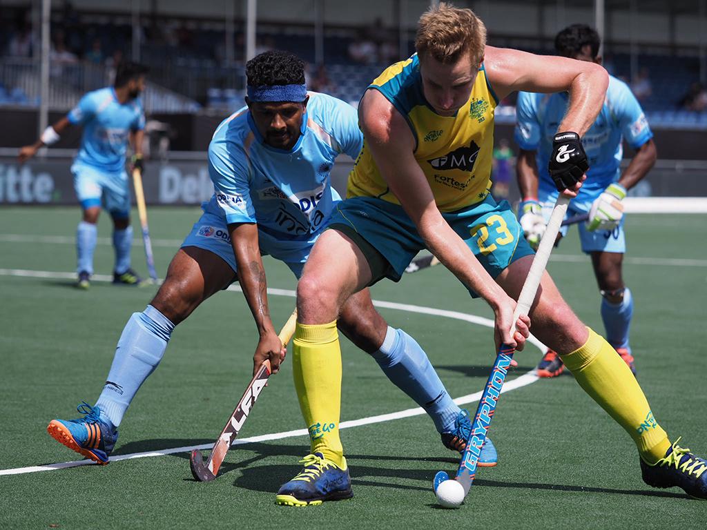 Champions Trophy (H): Australië eerste na winst op India