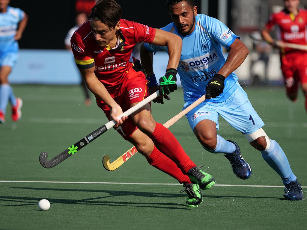 Champions Trophy (H): België sleept punt uit het vuur tegen India