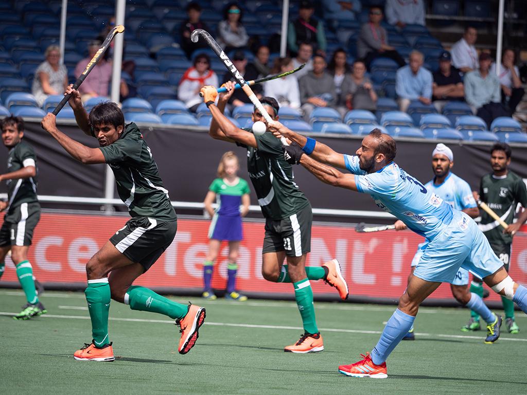 Champions Trophy (H): India wint openingsduel van Pakistan