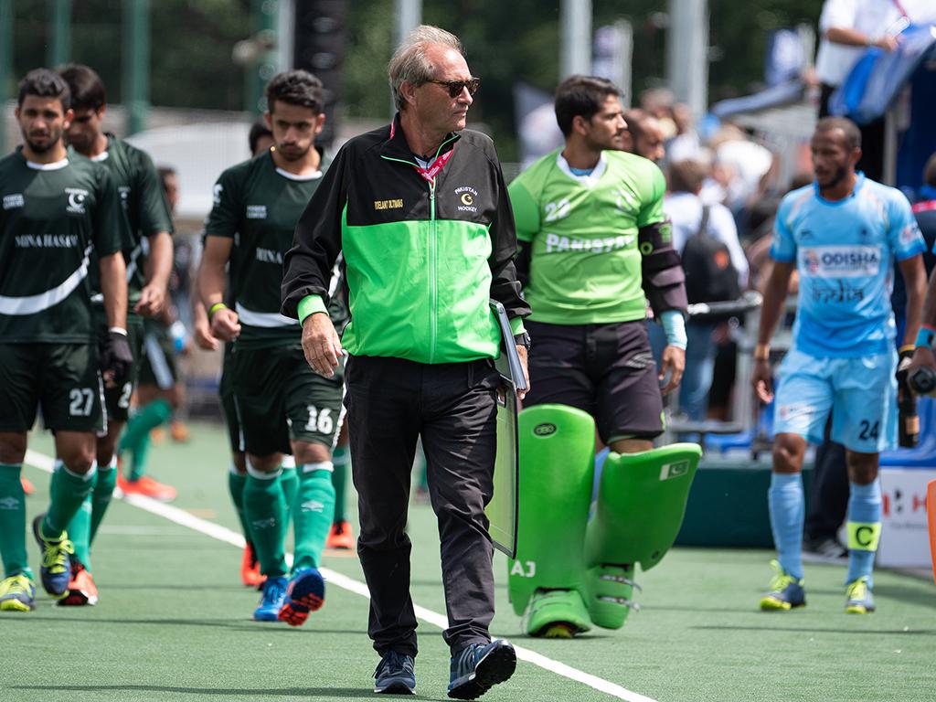 Roelant Oltmans weg als bondscoach Pakistan