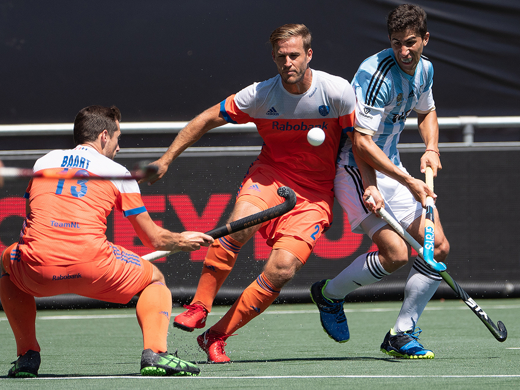 Champions Trophy foto's (H): Nederland-Argentinië 2-0