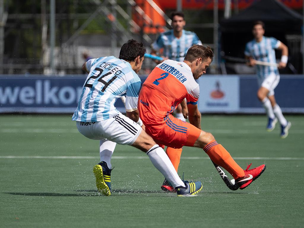 Champions Trophy foto's (H): Nederland-Argentinië 1-2