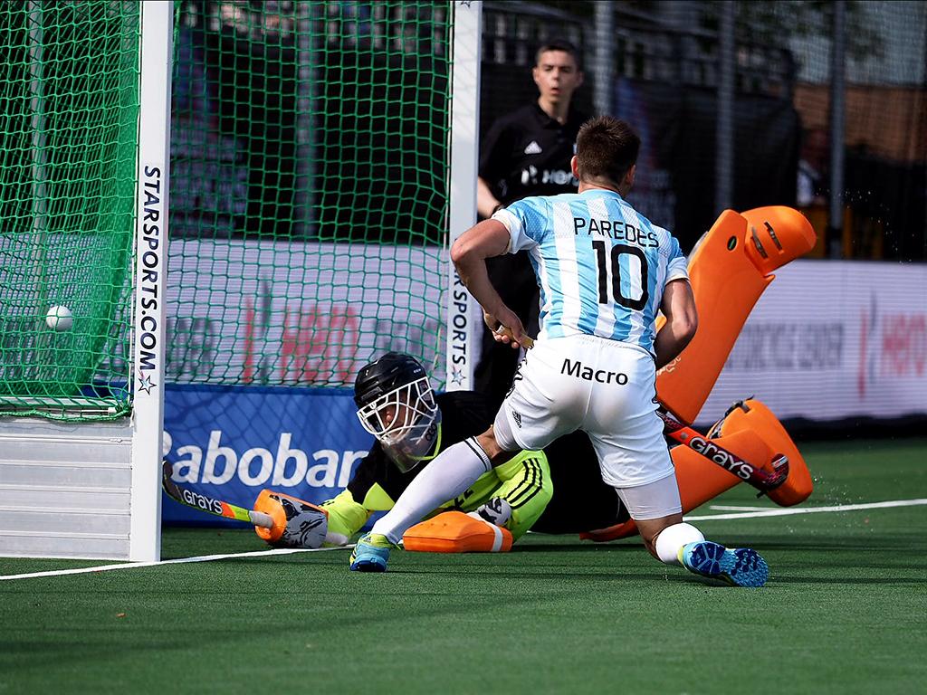 Champions Trophy (H): Nederland verliest van Argentinië