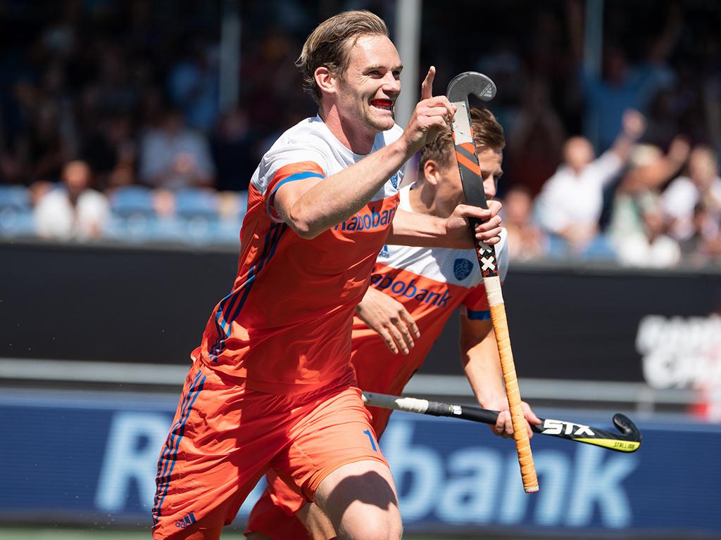 Champions Trophy (H): Mirco Pruyser in de prijzen