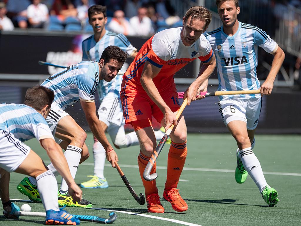 Olympisch kampioen Argentinië verslaat Oranje in eigen huis